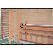 Universal Super Folding Frame Balance Beam - Wood - 3.05m