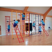 Universal Climbing Gate With Frames A, D and E - H2.75m