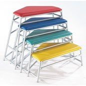Niels Larsen Lita Agility Tables - Assorted - Pack of 4