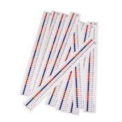 Table Top Number Lines - 0 to 50 - Pack of 10