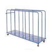Standard Vertical Mat Trolley - Blue