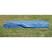 High Jump Landing Area With Coverall - Blue - 5 x 2.5m