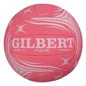 Gilbert Pulse Match Netball - Pink - Size 5