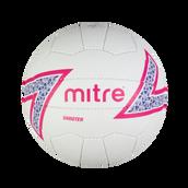 Mitre Shooter Netball - White - Size 4