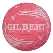 Gilbert Pulse Match Netball - Pink - Size 4