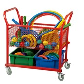 Play Equipment Trolley - Red