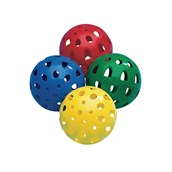 Teamster Perforated Balls - Assorted - Pack of 12