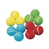 Coloured Balls - Assorted - Pack of 12