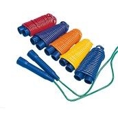 Spordas Skipping Ropes - Assorted - 9ft - Pack of 6