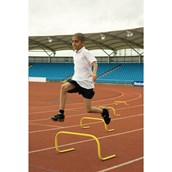 Vinex Bounce-Back Training Hurdle Set - Yellow - Assorted -  Pack of 4