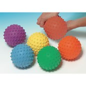 Sof-Spike Balls - Assorted - Pack of 6