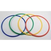 Flat Hula Hoop Set - Assorted - 50cm