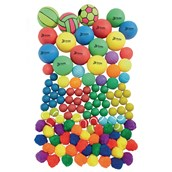 Value Pack of Balls - Assorted - Pack of 115