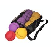 Pebbles Boccia Ball Set - Purple/Yellow