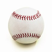 Synthetic Leather Rounders Ball - White