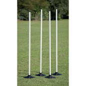 Rounders Post and Base Set - White - Pack of 4
