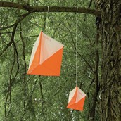 Orienteering Flags -Orange - 150mm x 150mm - Pack of 10