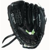 Bronx Softball Mitt - Right-Handed - Black