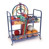 Multi-Purpose Equipment Trolley - Blue