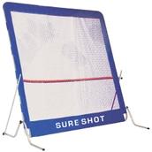 Sure Shot Squash Rebound Wall - Blue/White