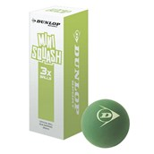 Dunlop Compete Mini Squash Ball - Green - Pack of 3