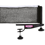 Butterfly Match Play Net and Post - Black