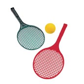 Short Tennis Plastic Racket - Assorted - Pack of 4