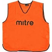 Mitre Pro Training Bib - Orange/Black - Junior