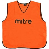 Mitre Pro Training Bib - Orange/Black - Small Senior