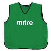 Mitre Pro Training Bib - Green/Black - Small Senior