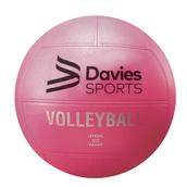 Davies Sports Vinyl Volleyball - Pink