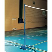 Harrod Sport Volleyball Practice Net - Steel Head Line - Black - 9.5 x 1m
