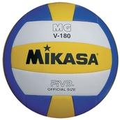 Mikasa MGV Volleyball - Yellow/White/Blue - 180g