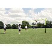 Harrod Sport Portable Volleyball Net - Yellow/Black - 10 x 2.5m