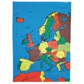 Europe Map Mat