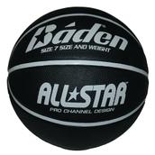 Baden All Star Basketball - Black/White - Size 7