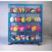 Ball Cabinet - Blue