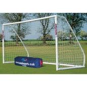 Samba Match Goal - White - 12ft x 6ft - Pair
