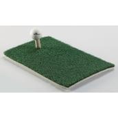 Practice Golf Mat and Tee Set - Green