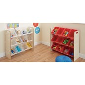 Practical Classroom Tidy - Clear Trays