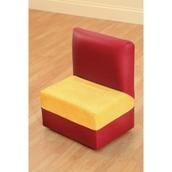 PVC Seat Reading Corner - Blue/Yellow