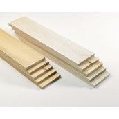 Pack of Thick Sheets of Balsa 100mm
