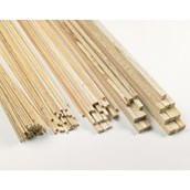 Pack of Square Balsa Pieces