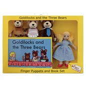 Goldilocks and the Three Bears Puppet and Book Set