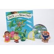 Jack and the Beanstalk Puppets; CD and Book Set
