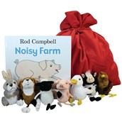 Noisy Farm Puppet and Book Set