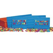 Magnetic Ruled Boards and Letters Pack