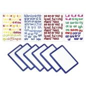Magnetic Foam Phonics Letters and Board Bulk Pack