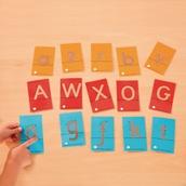Tactile Sandpaper Letters Multibuy Offer - Pack of 82