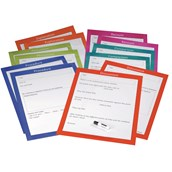 A2 Writing Frames - Pack of 12